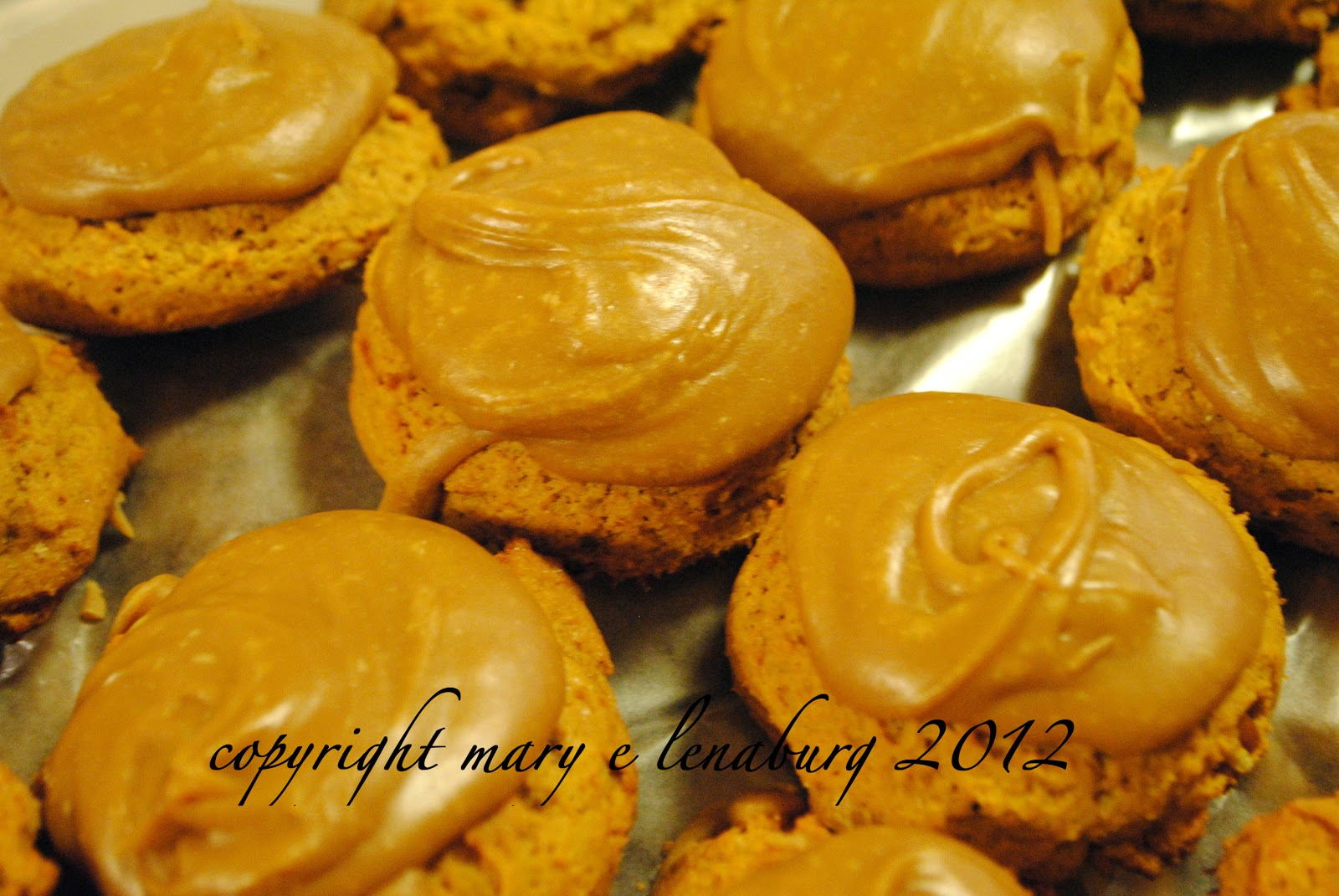 Passionate Perseverance: day three - caramel frosted ...