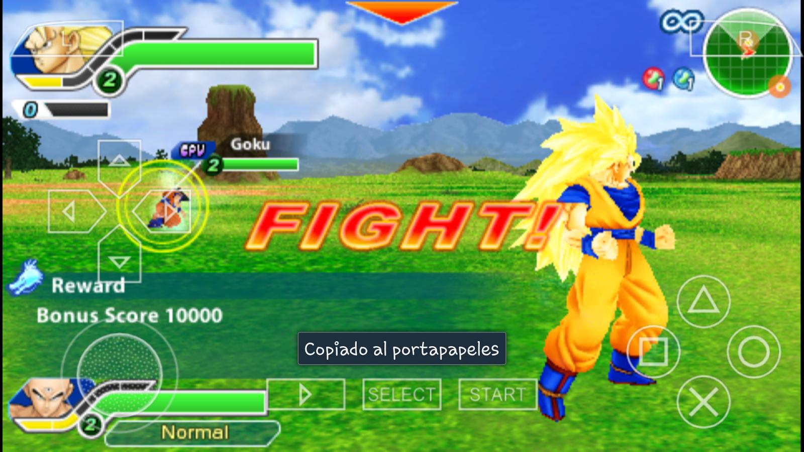 descargar juegos para ppsspp android gratis de dragon ball z