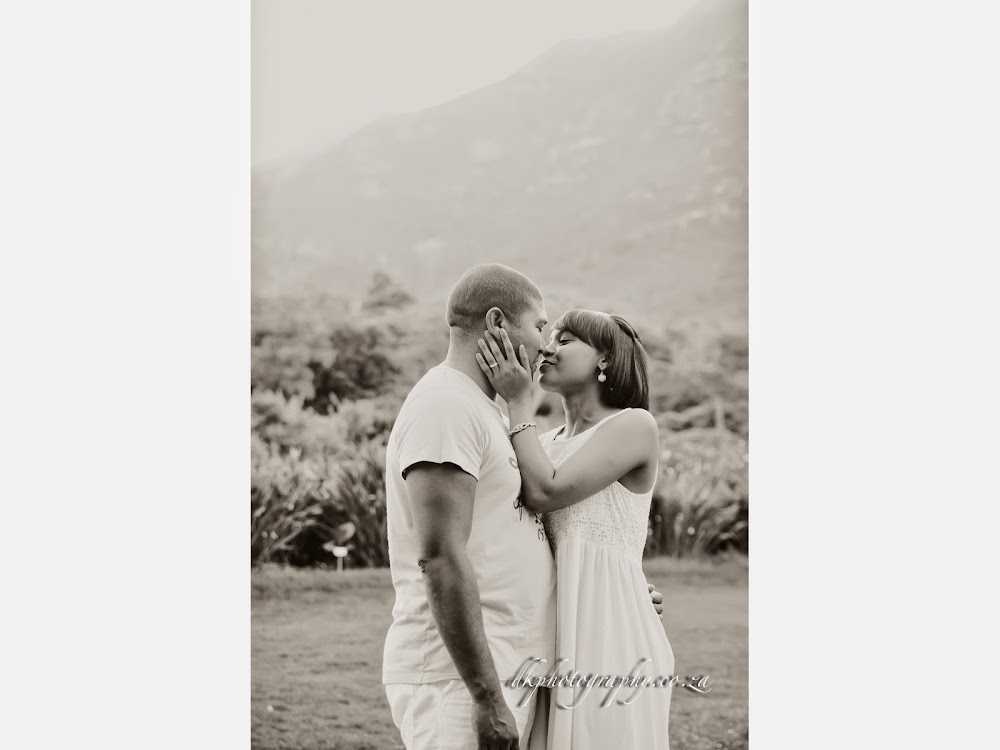 DK Photography Slideshow-03 Rochelle & Enrico's Engagement Shoot in Kirstenbosch Botanical Garden & Llandudno Beach  Cape Town Wedding photographer