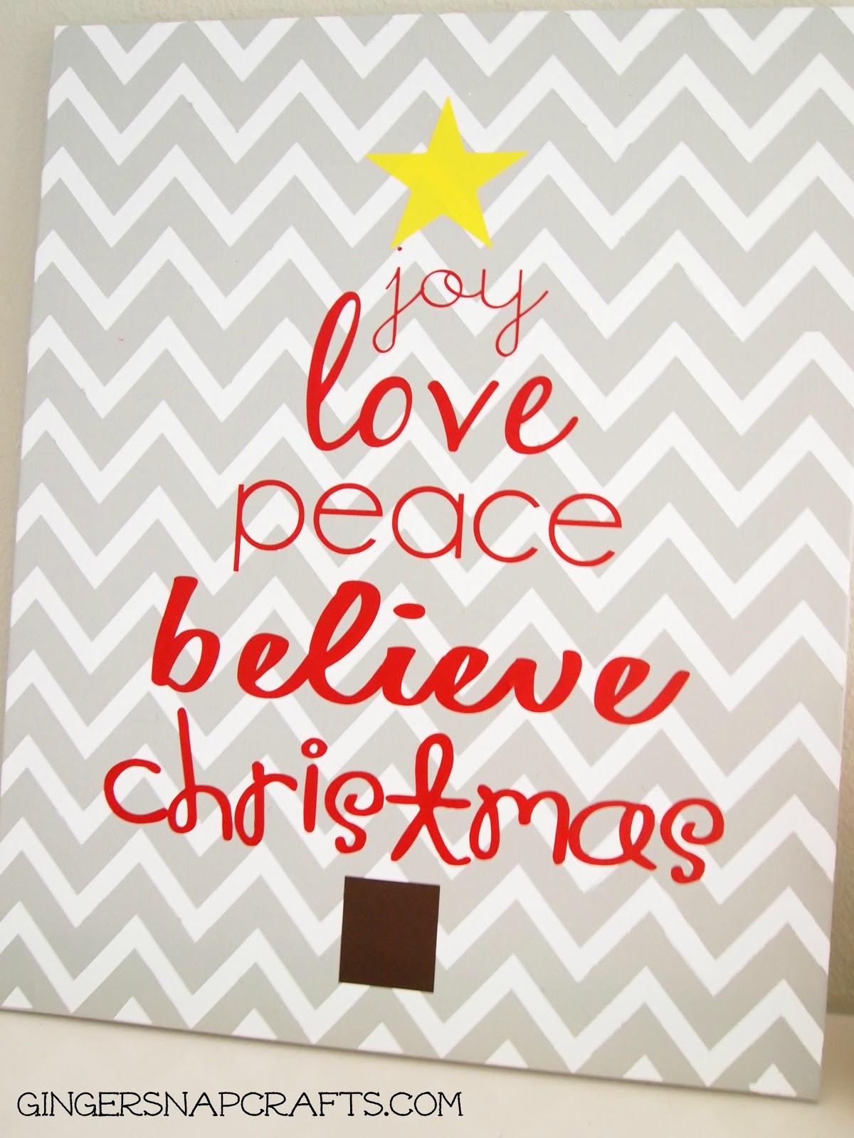 Easy christmas art for Christmas paintings easy