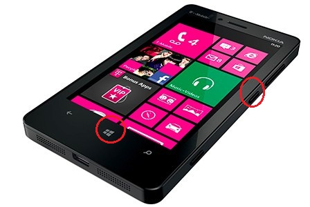 Cara Screenshot di HP Windows Phone 8