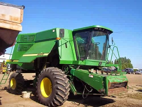 John Deere 9600 combine parts