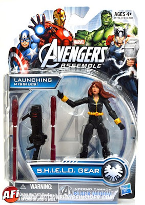 "Hasbro Avengers Assemble 3.75"" Black Widow Figure"