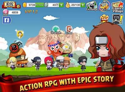 Cara Menjadi Ninja VIP 1 Sampai 12 di Ninja Heroes Gratis