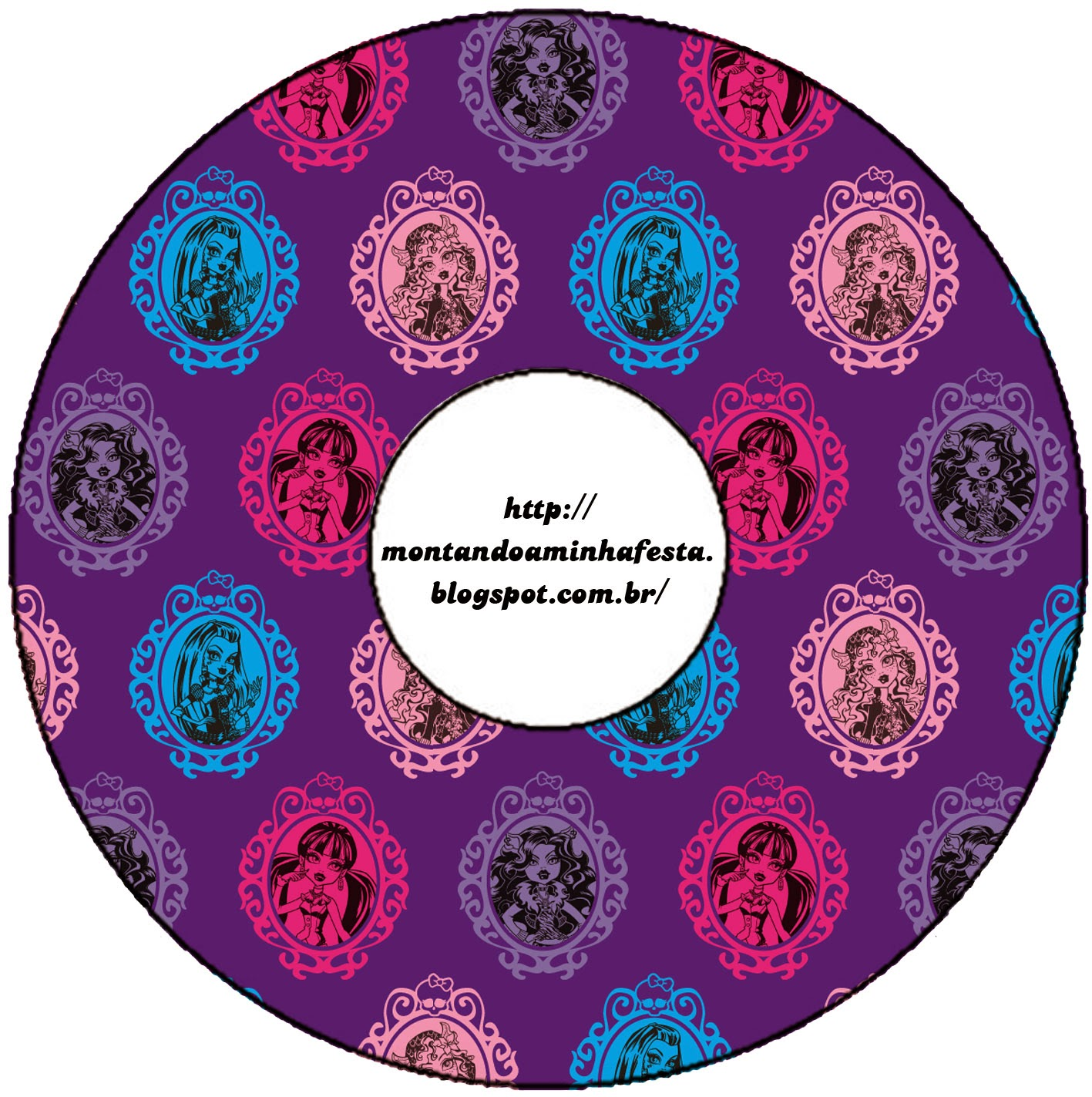 Etiqueta para CD.