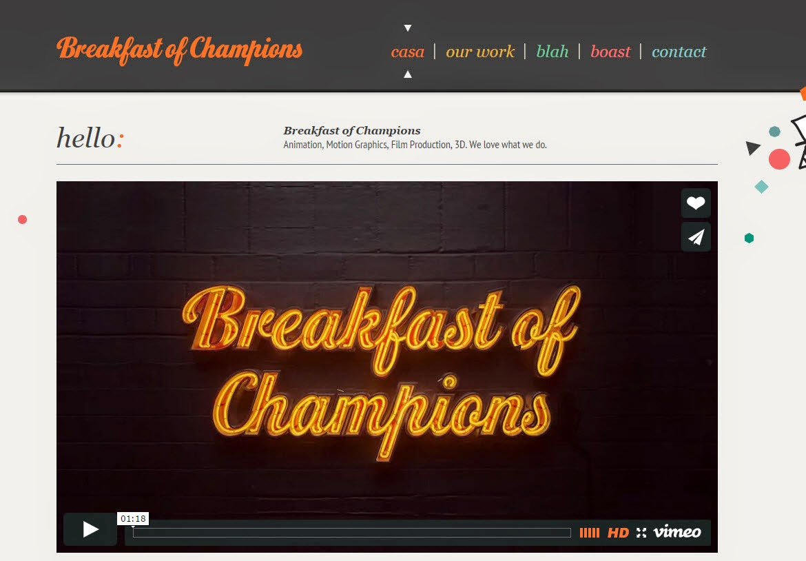 Breakfast of Champions's Videos 01