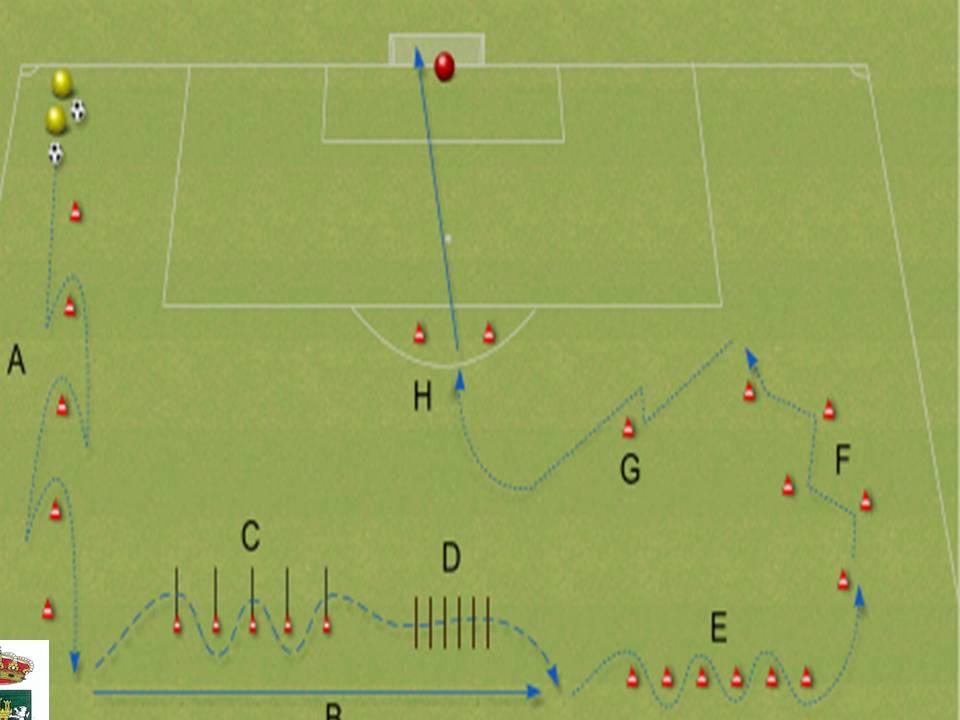 Circuito Fisico Tecnico Futbol : Almogia el de chico circuito físico técnico con