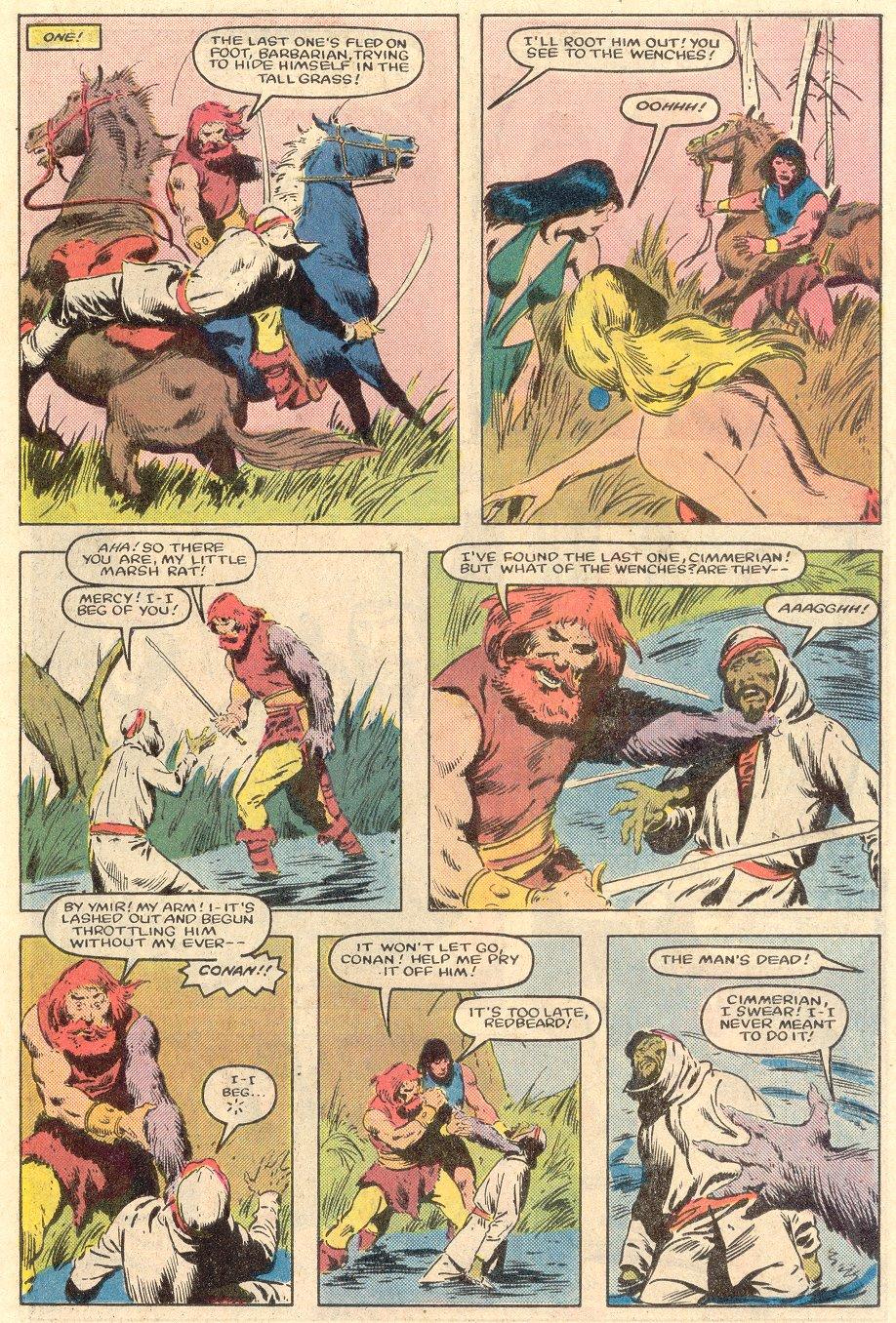 Conan the Barbarian (1970) Issue #161 #173 - English 14