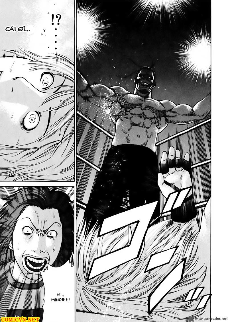 Karate Shoukoushi Kohinata Minoru chap 60 Trang 19