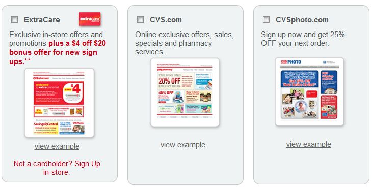 cvs com  email   cvs  pharmacy email savings