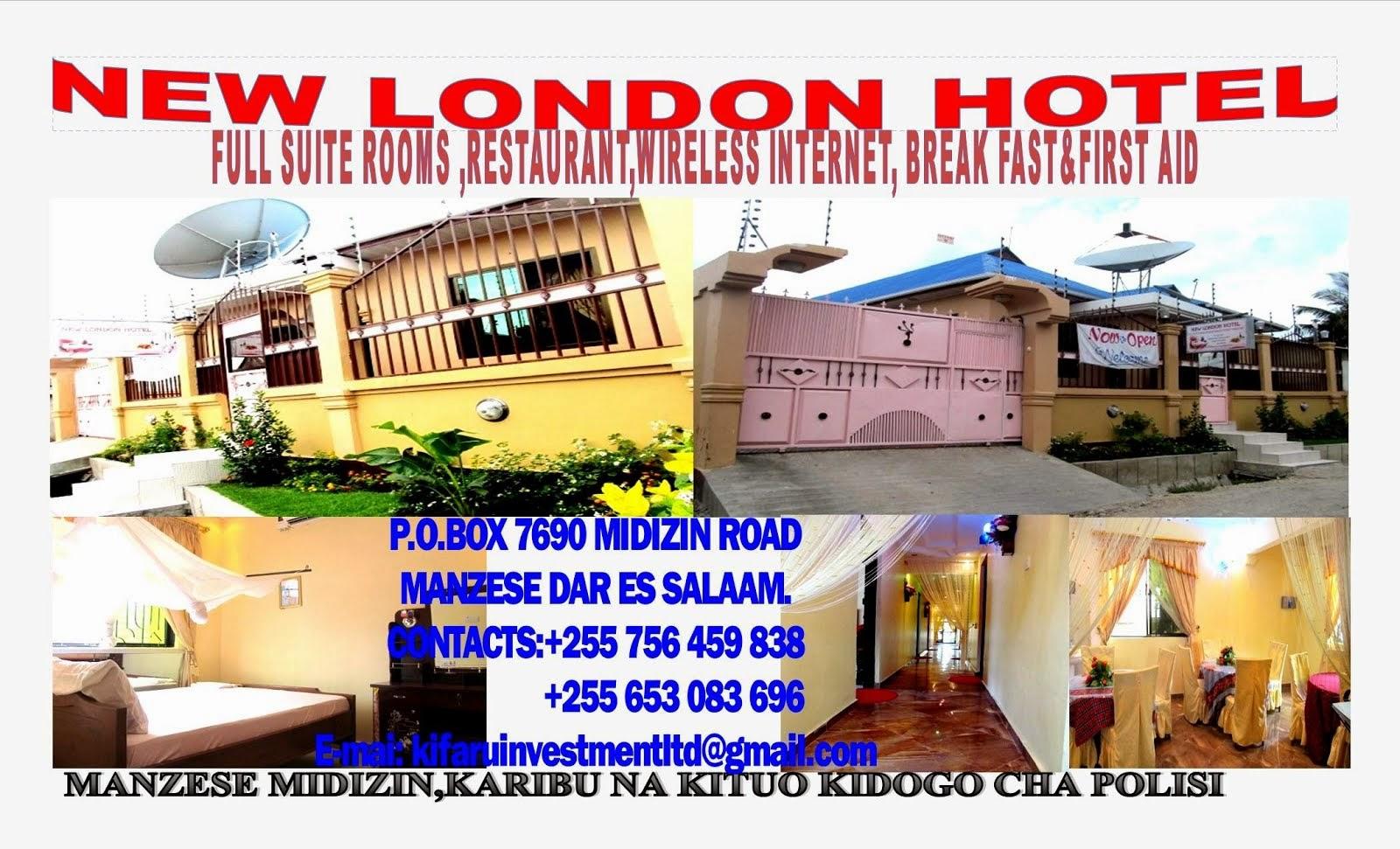 NEW LONDON HOTEL