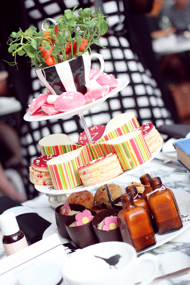 Mad Hatters Afternoon Tea at Sanderson Hotel, London