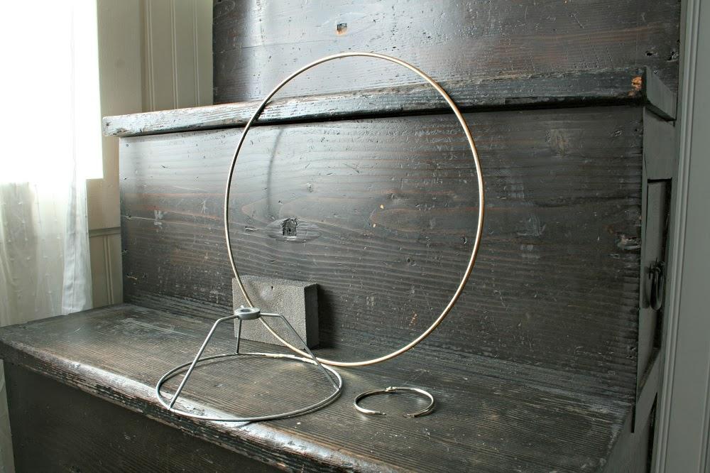 wood beads, lamp shade, diy lamp shade