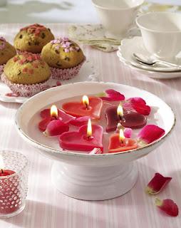 valentinstag kerzen h%5B1%5D Idéias charmosas para organizar e decorar o dia dos namorados