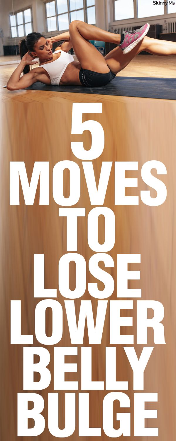 5 Moves to Lose Lower Belly Bulge