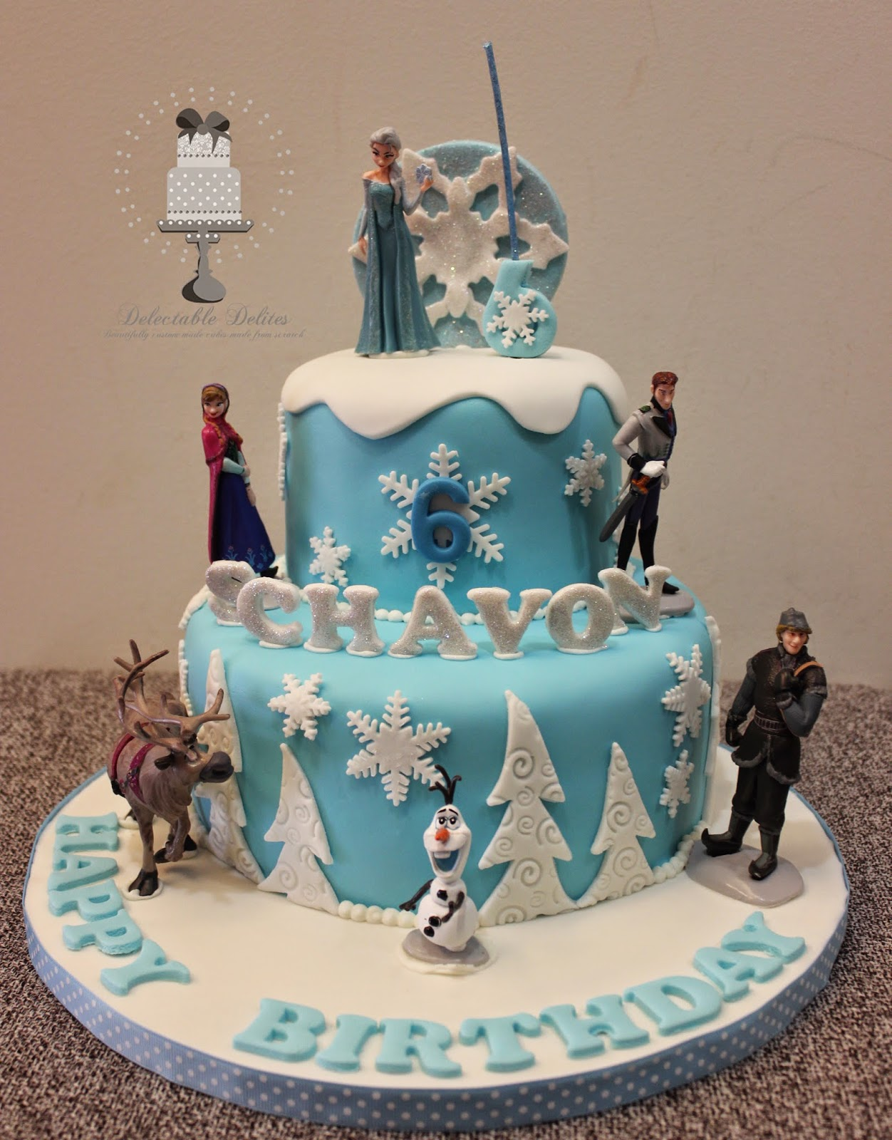 Birthday Cake Ideas Disney Frozen : Disney Frozen Cakes
