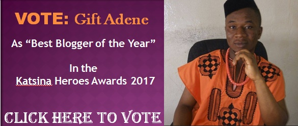 "Vote Gift Adene as ""Best Blogger"" 