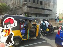 Des de Chennai al Sud Est de l'India.