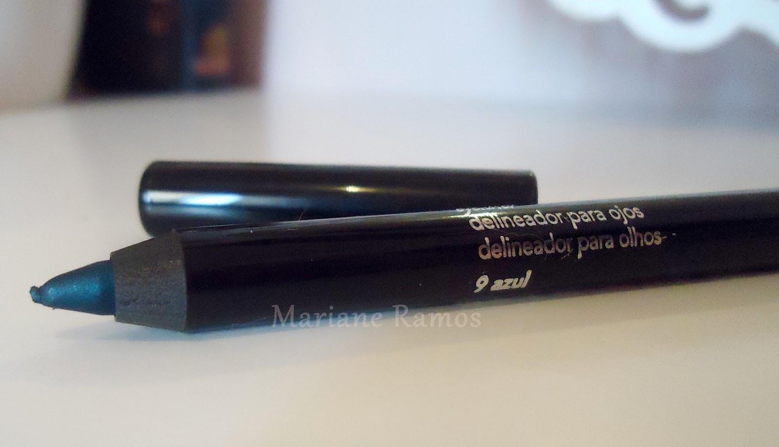 lápis mega impact azul