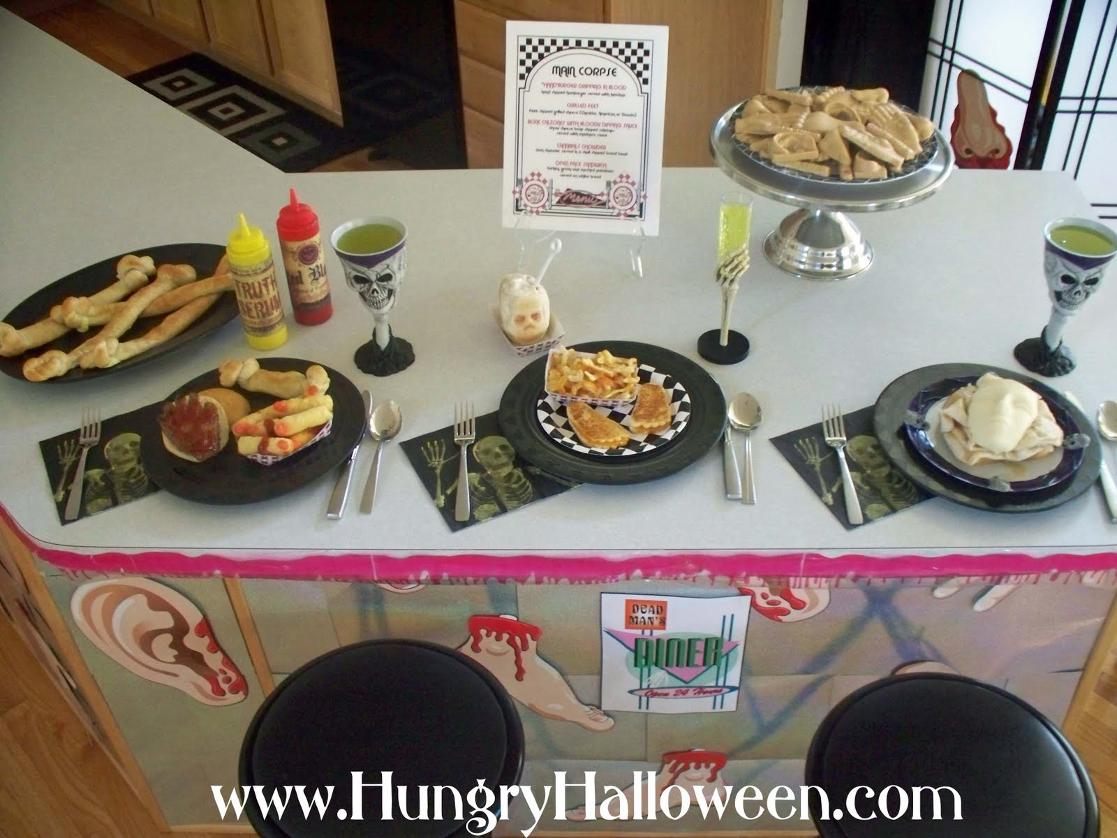 Gruesome food and decorating ideas for your halloween party ...