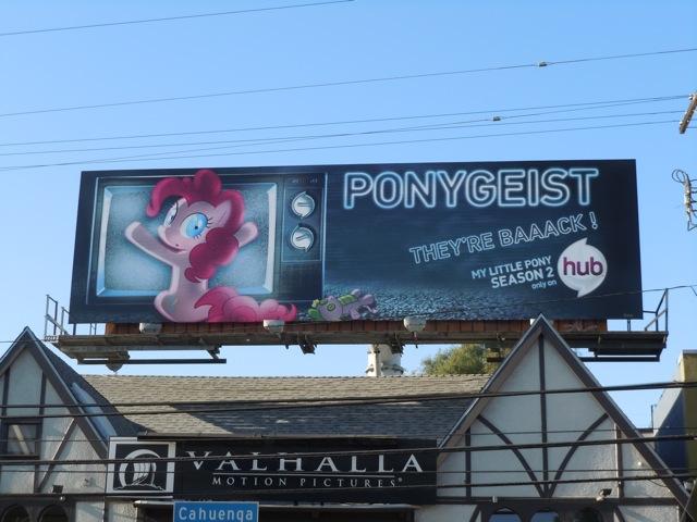 Ponygeist Hub billboard
