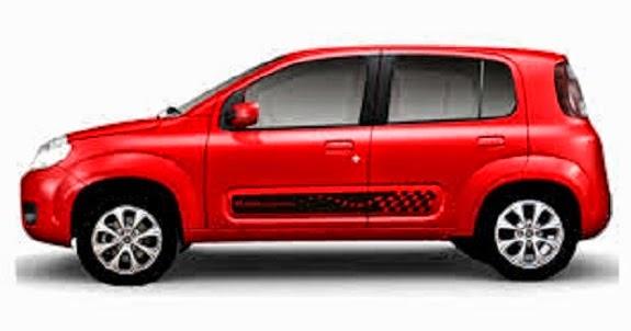 carros novos fiat preços Fiat Uno 2015