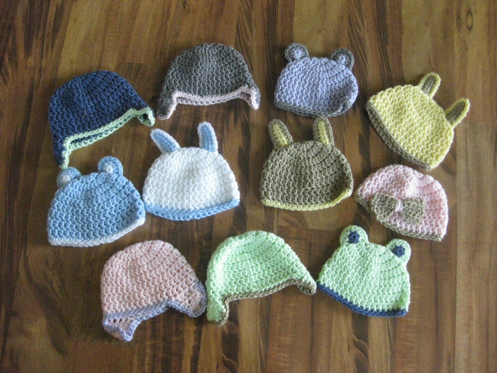 That\'s Sew Julie: Preemie and Newborn Crochet Hat Pattern