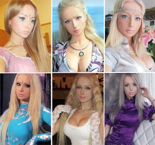 Valeria Lukyanova Gadis Barbie