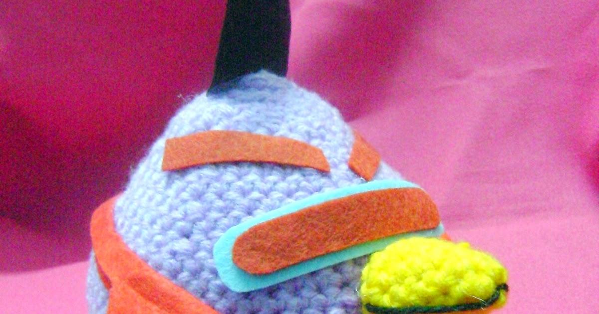 Amigurumi Angry Birds Space : 1-DSC03611.JPG