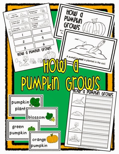... (20) Gallery Images For Pumpkin Life Cycle Sequencing Cards