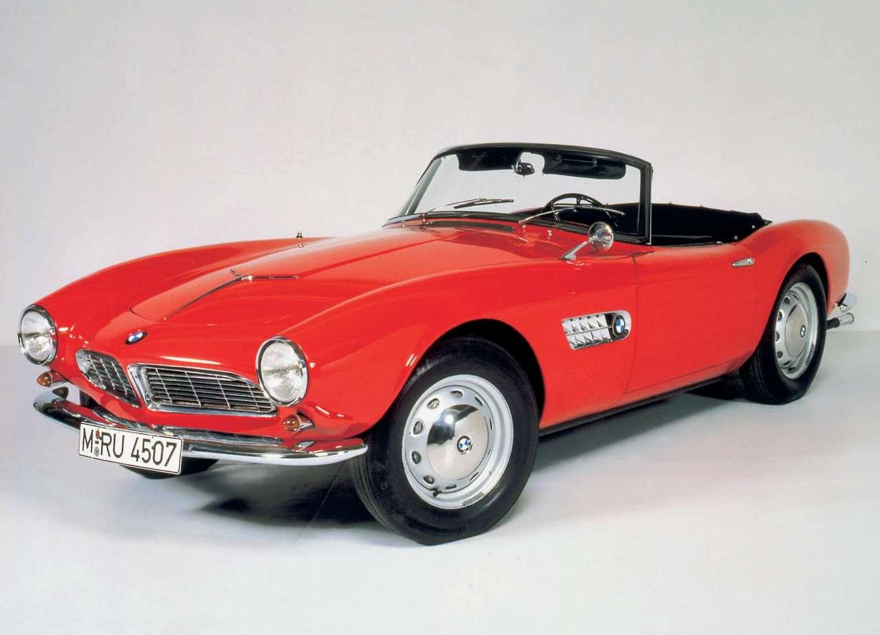 bmw fuel efficient car: 1955 BMW 507 Cool Cars