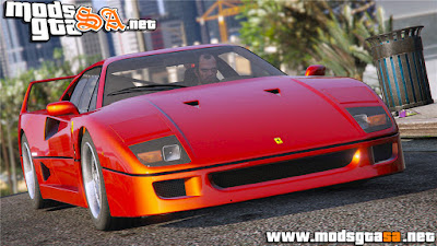 SA - Ferrari F40 1987 para GTA V PC