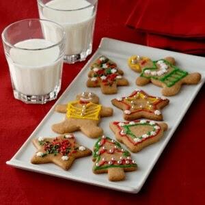 Light Christmas Cookies, Nestlé, 109 calories