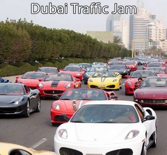 Saksikan Gaya Hidup Mewah Jutawan di Dubai
