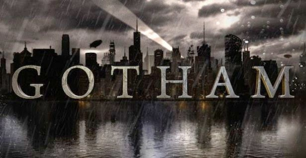 Gotham logo for Batman TV Show on Fox