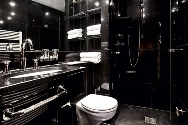 Ba os color negro colores en casa - Banos en negro ...