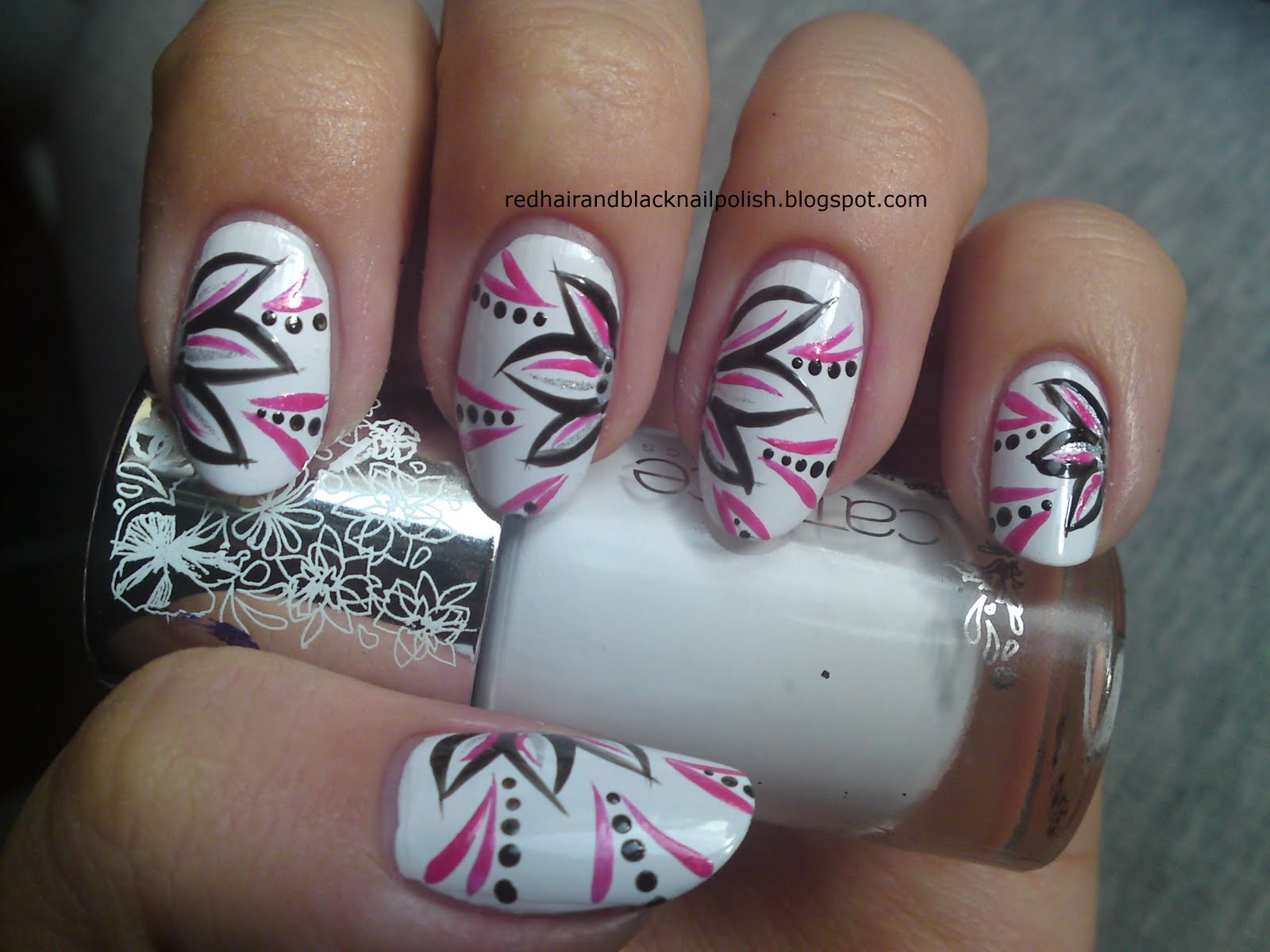 Flower Nail Art Designs For Beginners