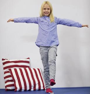 الرياضة الصغر تخافظ الصحة الكبر