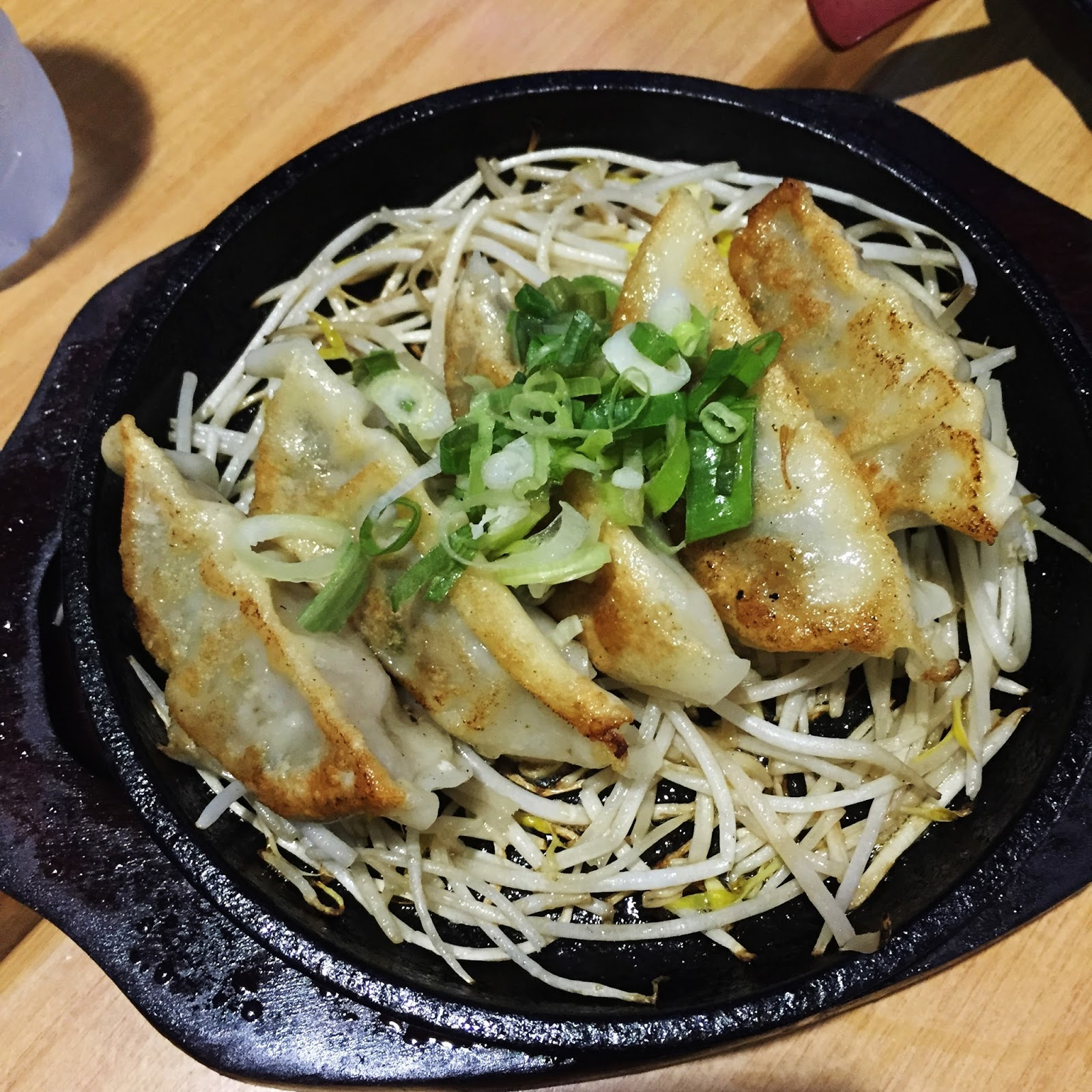 ramen nagi gyoza review