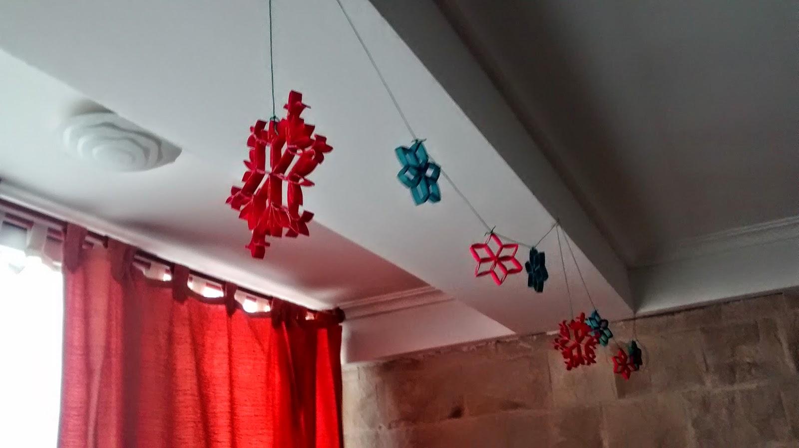 guirnalda estrellas navidad