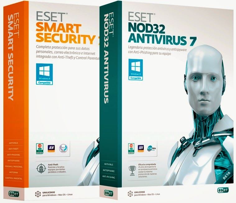 Eset Nod32 Antivirus Smart Security 7 Username & Password till 2016 - Cyber Soul Tutorial