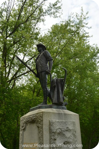 Minuteman Statue at Old North Bridge