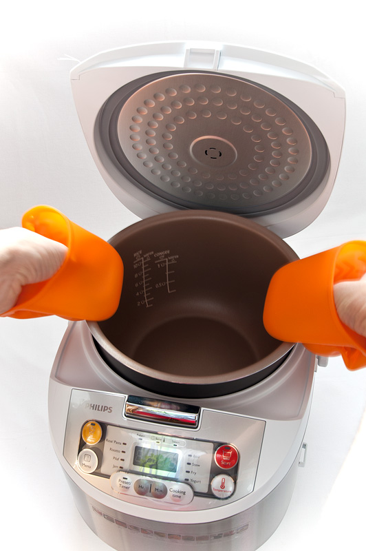 Philips Multicooker HD3037 silicone gloves