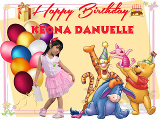 birthday, birthday tarpaulin, birthday celebration,  Winnie the Pooh theme