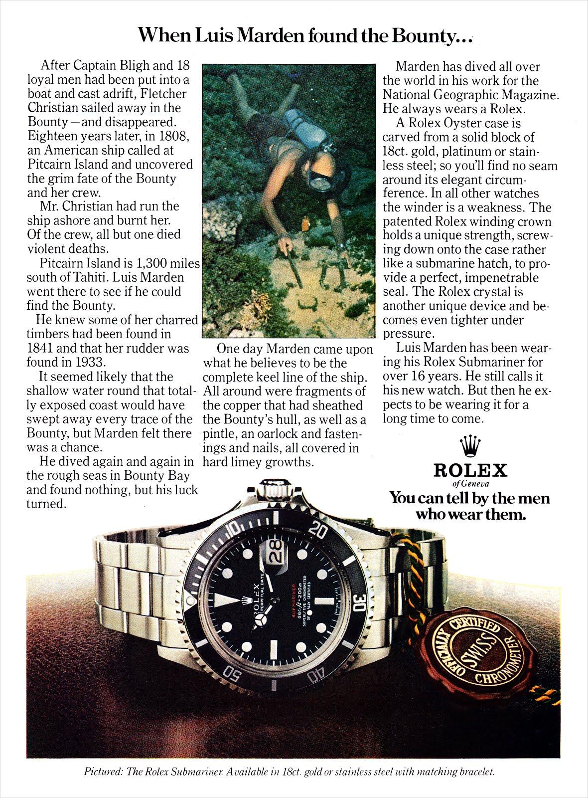 http://2.bp.blogspot.com/-XYBauj-DCSI/UPIMIPmFPQI/AAAAAAAAUos/xrDmR-QWgqE/s1600/Luis-Marden-Rolex-Submariner-Ad-1976.jpg