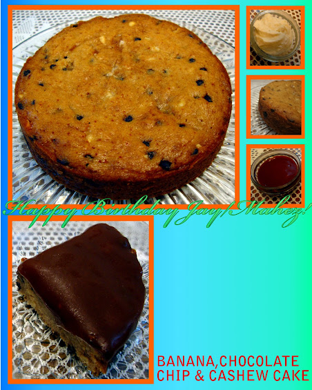 Banana Snacking Cake With Cashew Coconut Cream Recipes — Dishmaps