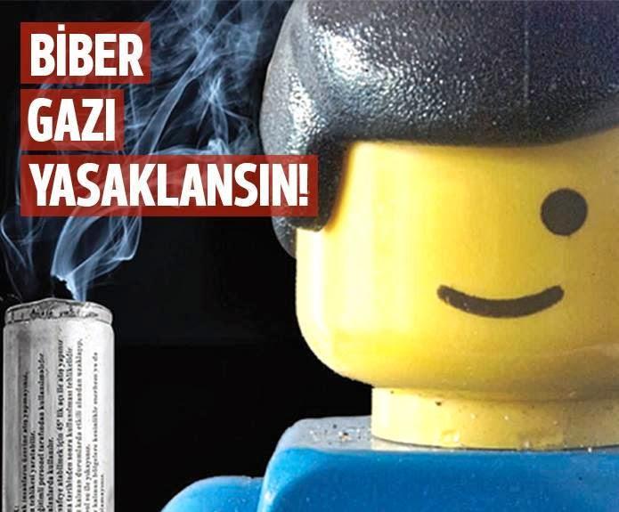 Biber gazı değil, şehir eşkıyalığı yasaklansın!
