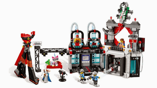 70809 - Lord Buisness' Hideout (The LEGO Movie)