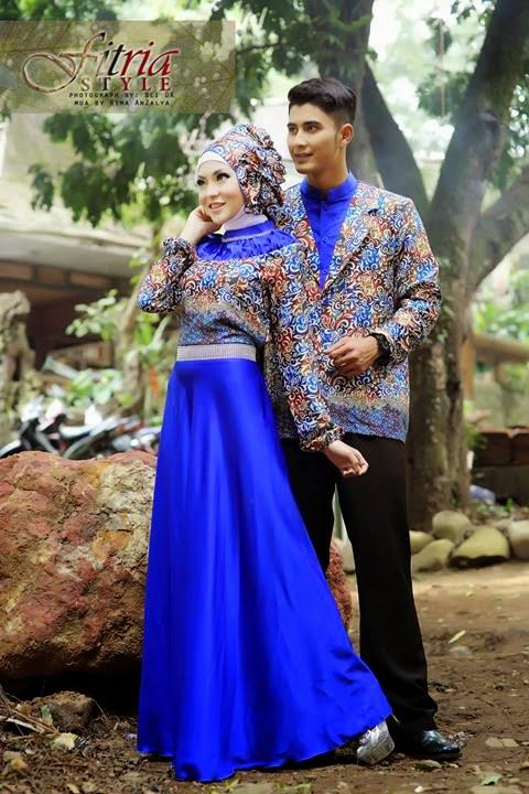 16 Contoh Model Batik Muslim Pesta Modern Terbaik  Kumpulan Model