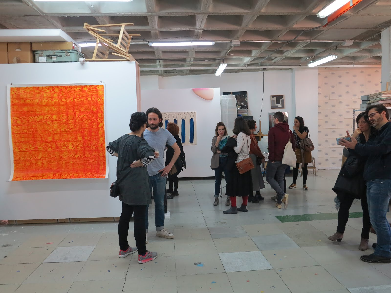 Muestra en Nave Oporto